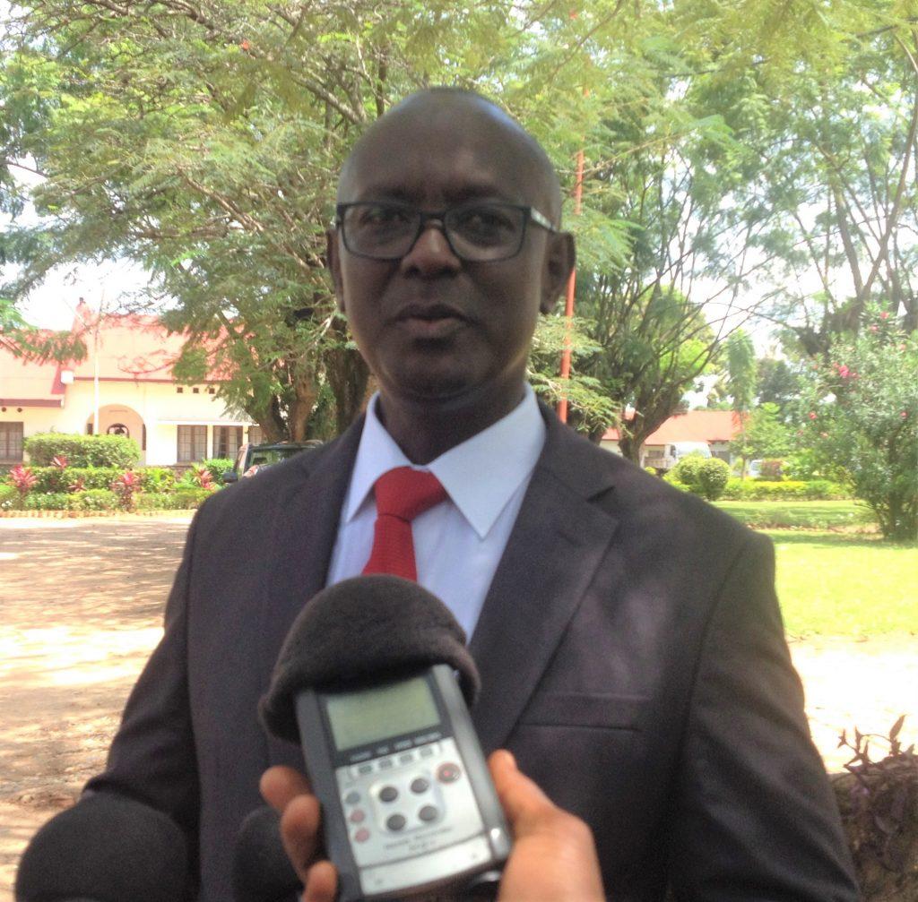 M. Jean Marie Vianney Rugirinyange le Directeur Général de la Culture et des Arts au Ministère de la Culture et des Sports.