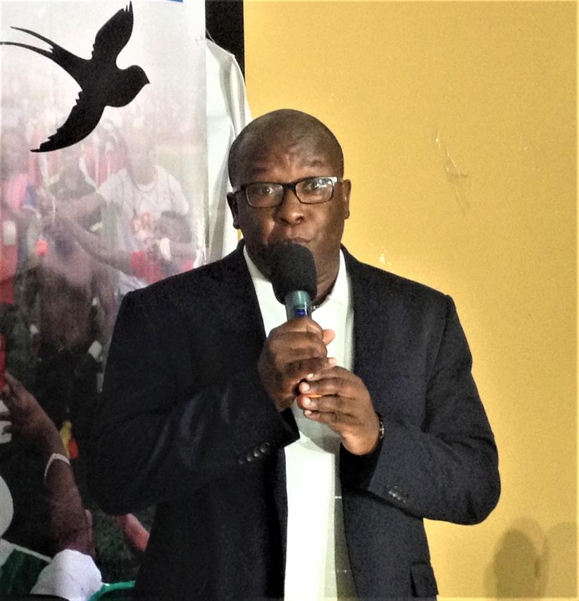 Eric Ngendahayo, le Directeur Général de la société MUSUMBA Steel