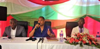 M. Edouard Nduwimana, l'Ombudsman de la République du Burundi
