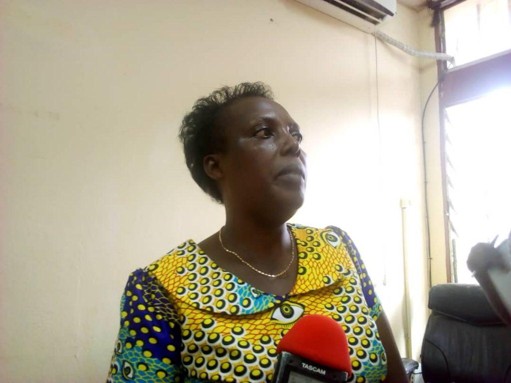 Mme Béatrice Kurundere, la chargée de suivi et évaluation des projets