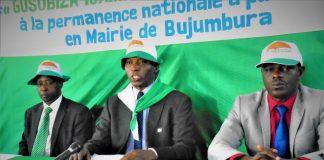 Le président du parti Sahwanya FRODEBU (photo d'archive)
