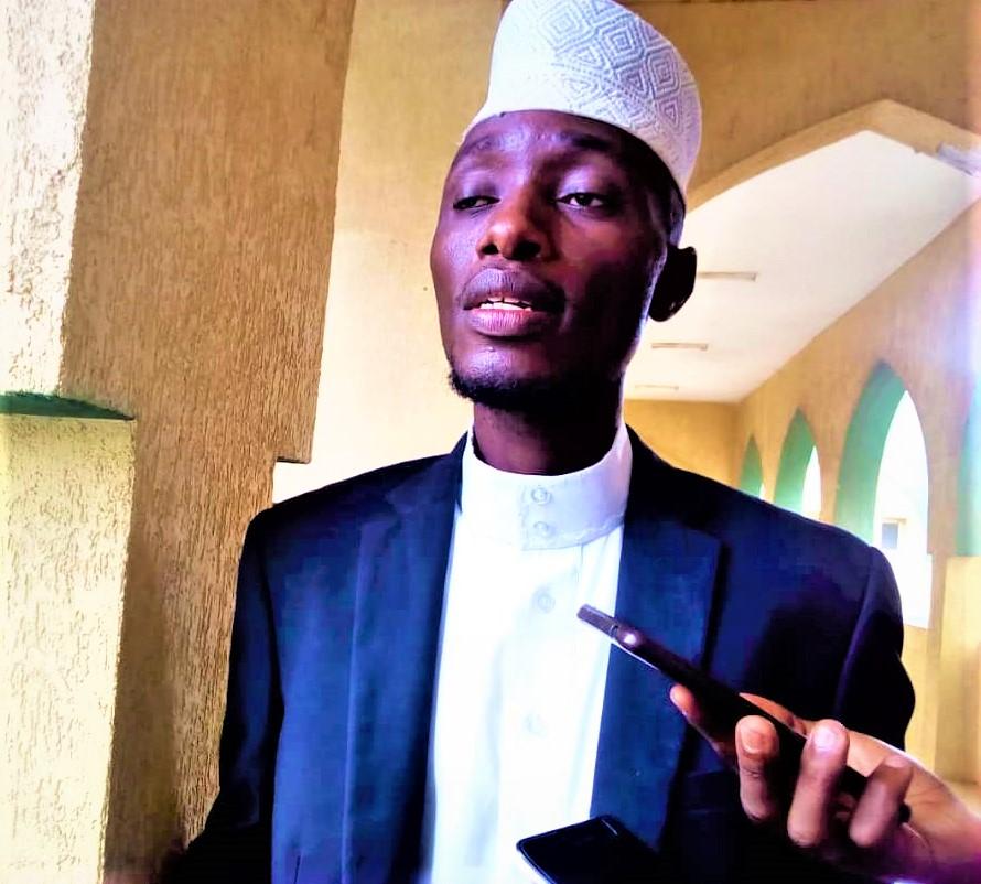 Abdoul Kabura,président du Forum des Etudiants et Intellectuelles Musulmans du Burundi (FEIMB)