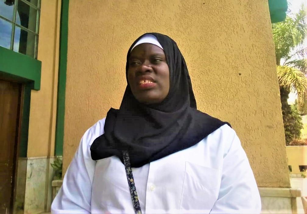 Ir. Jamillah Barekebavuge ,une des filles participantes dans la conférence
