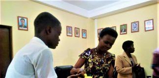 Dr. Janière Ndirahisha la ministre en charge de l'Education,Formation Technique et Professionnelle