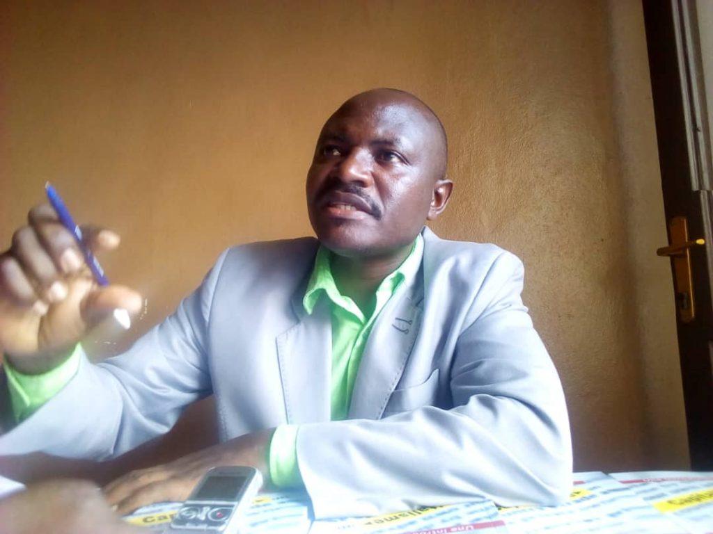 Claude Ndereyimana, le Directeur du BBN