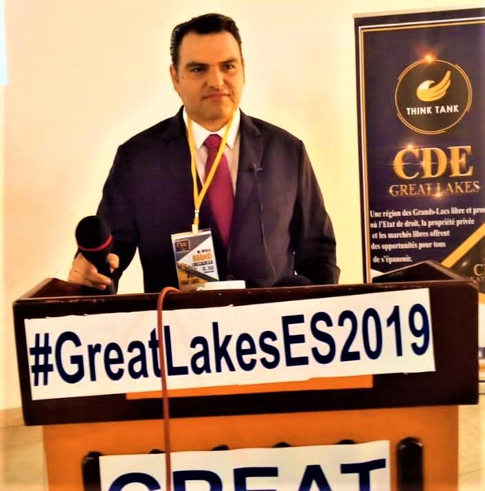 Dr Patrick Mardini,Président de l'Institut libanaise pour les études des marchés