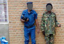 Les présumés criminels en tenues des forces de l'ordre et de la sécurité publique