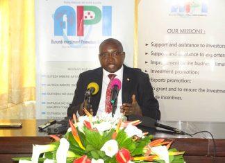M.Léonard Sentore,DG de l'API