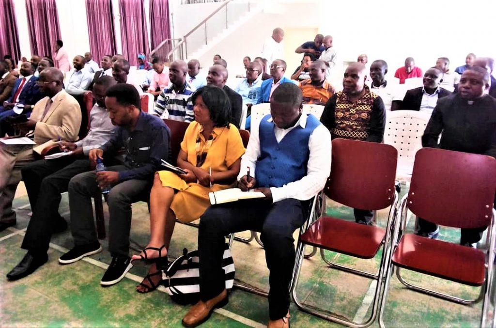 Vue partielle des participants à la conférence de la Diaspora burundaise