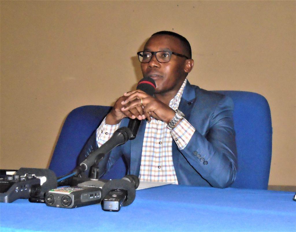 Le ministre en charge de la Santé Dr.Thadée Ndikumana