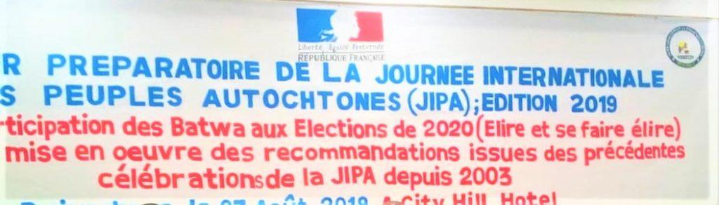 Banderole illustrant la JIPA 2019