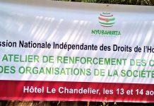 Banderole de la CNIDH