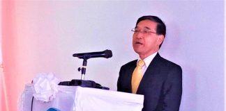 l'Ambassadeur du Japon au Burundi ,M. Takayuki Miyashita ayant sa résidence à Kigali.