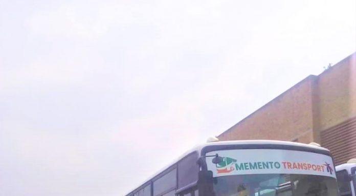 les nouveuax bus de l'agence de transport Memento