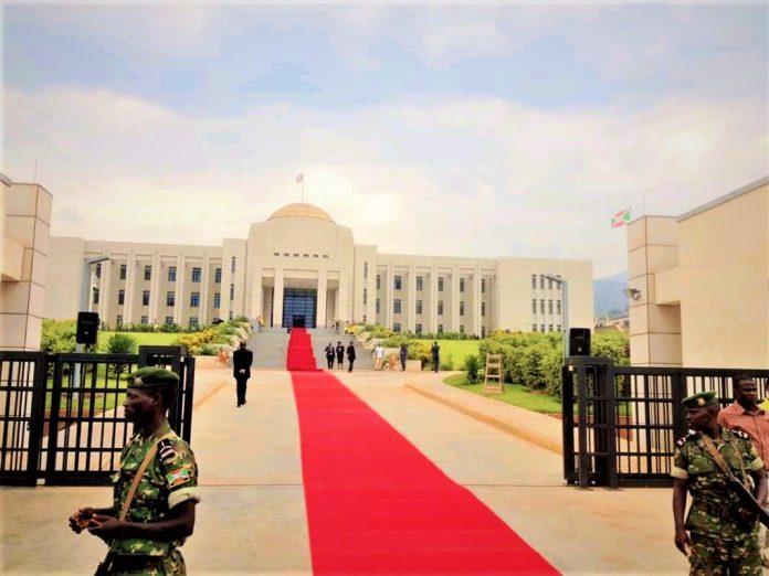L'infrastructure abritant le bureau présidentiel du Burundi baptisé