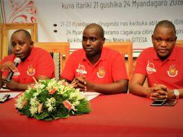 "Jean Claude Karerwa Ndenzako ""l'histoire entendue via les experts leur accordera la leçon morale dans la vie du pays car "" Harabaye ntihakabe....""."