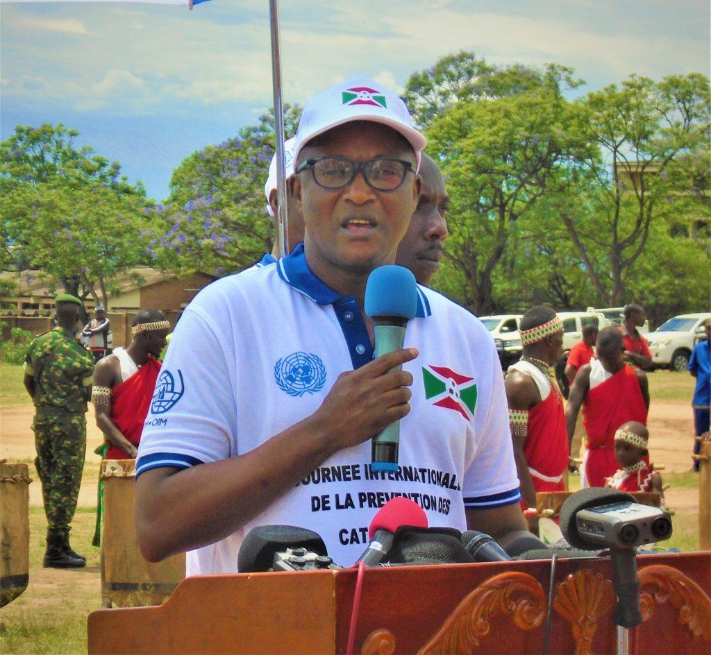 Le 1er Vice-Président Gaston Sindimwo