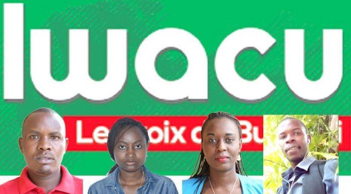 Les journalistes du journal IWACU enprisonnés à la prison de Bubanza
