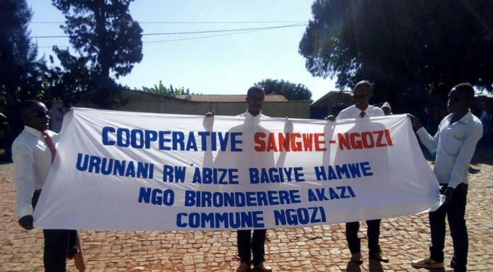 photo d'illustration de la coopérative Sangwe