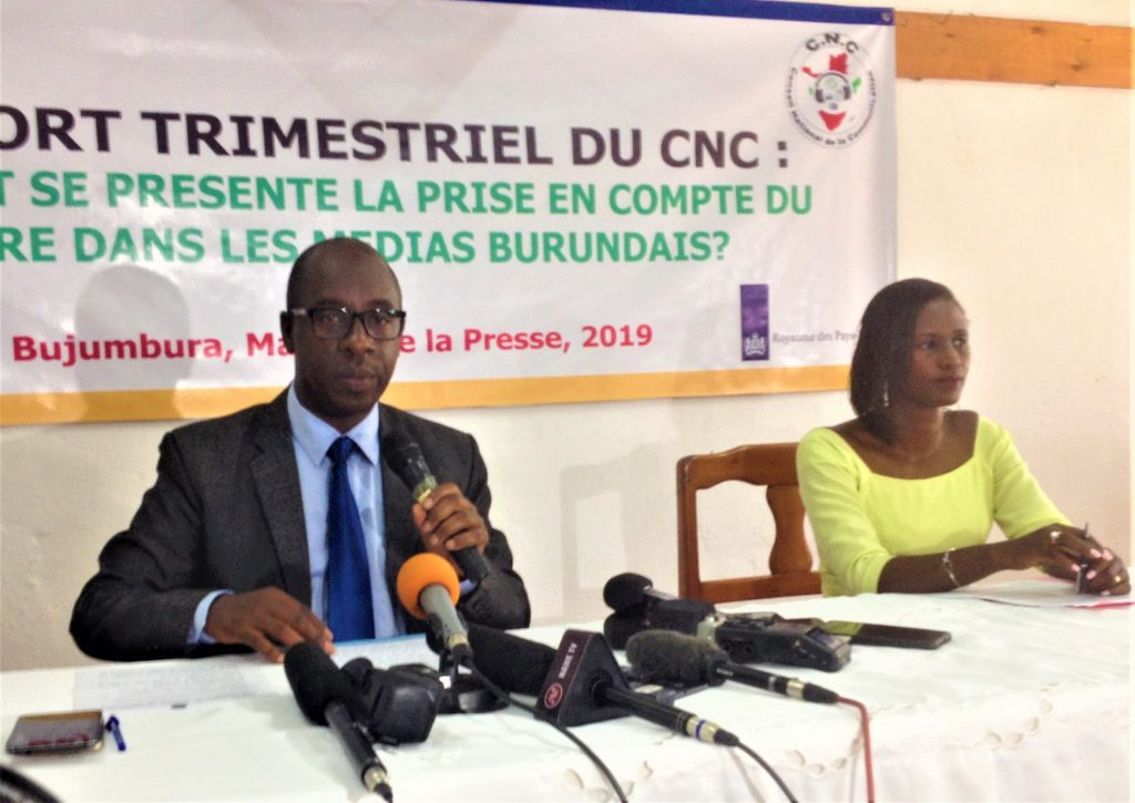 Nestor Bankumukunzi,Président du CNC