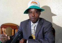 Léonce Ngendakumana,candidat du parti Sahwanya Frodebu pour les présidentielles de 2020