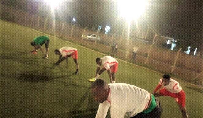 Les joueurs de la FFB étaient dans l'entrainement au Kenya