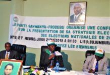 """Pierre Claver Nahimana président du FRODEBU """"Le rassemblement ne sera pas une coalition au sens de la constitution, mais une alliance volontaire des différents partenaires autour du programme du FRODEBU"""""""