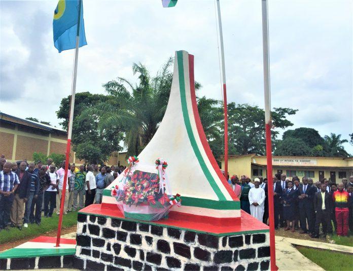Monument de l'unité nationale de Rumonge