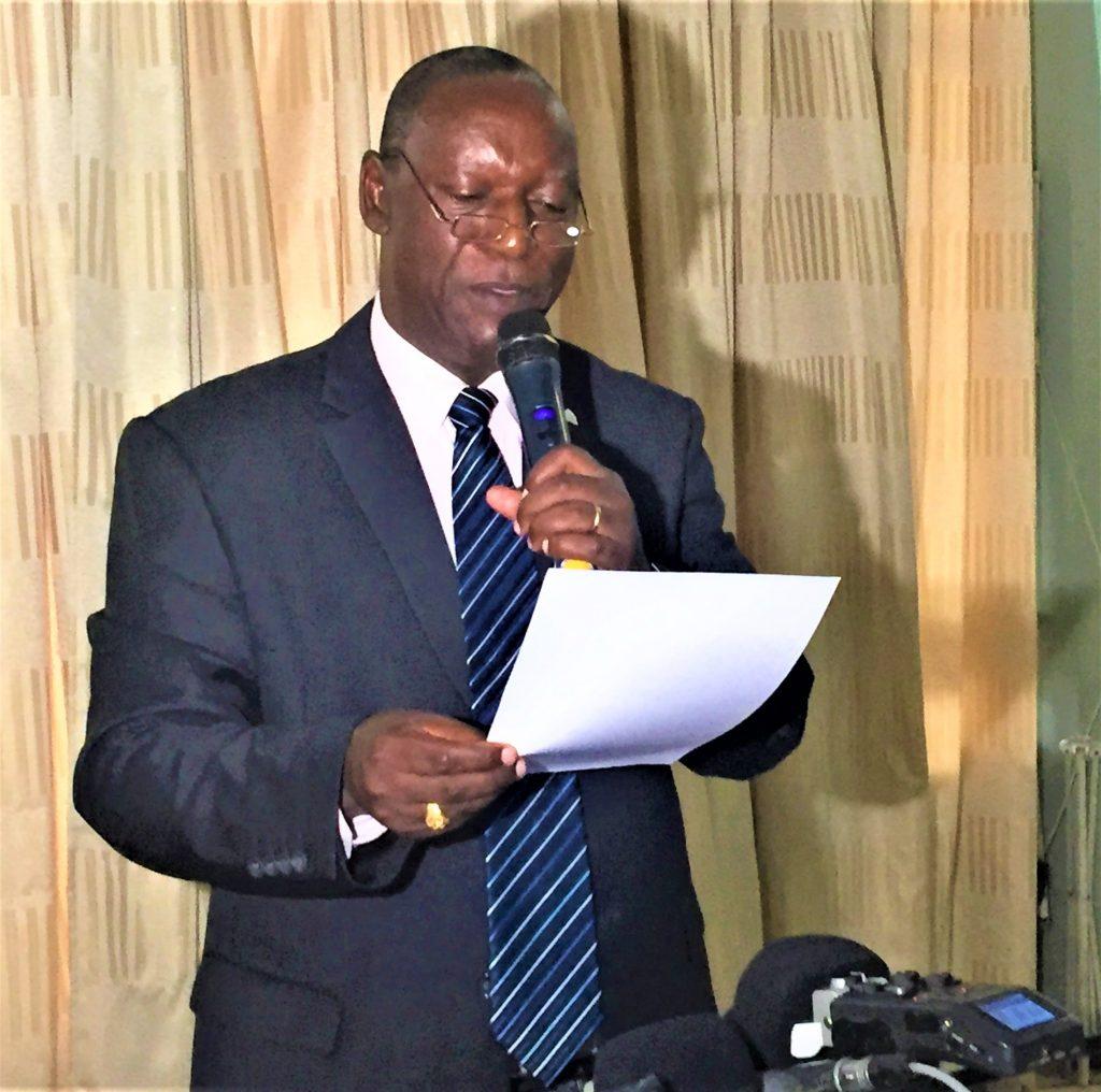 Pierre Claver Ndayicariye ,président de la CVR