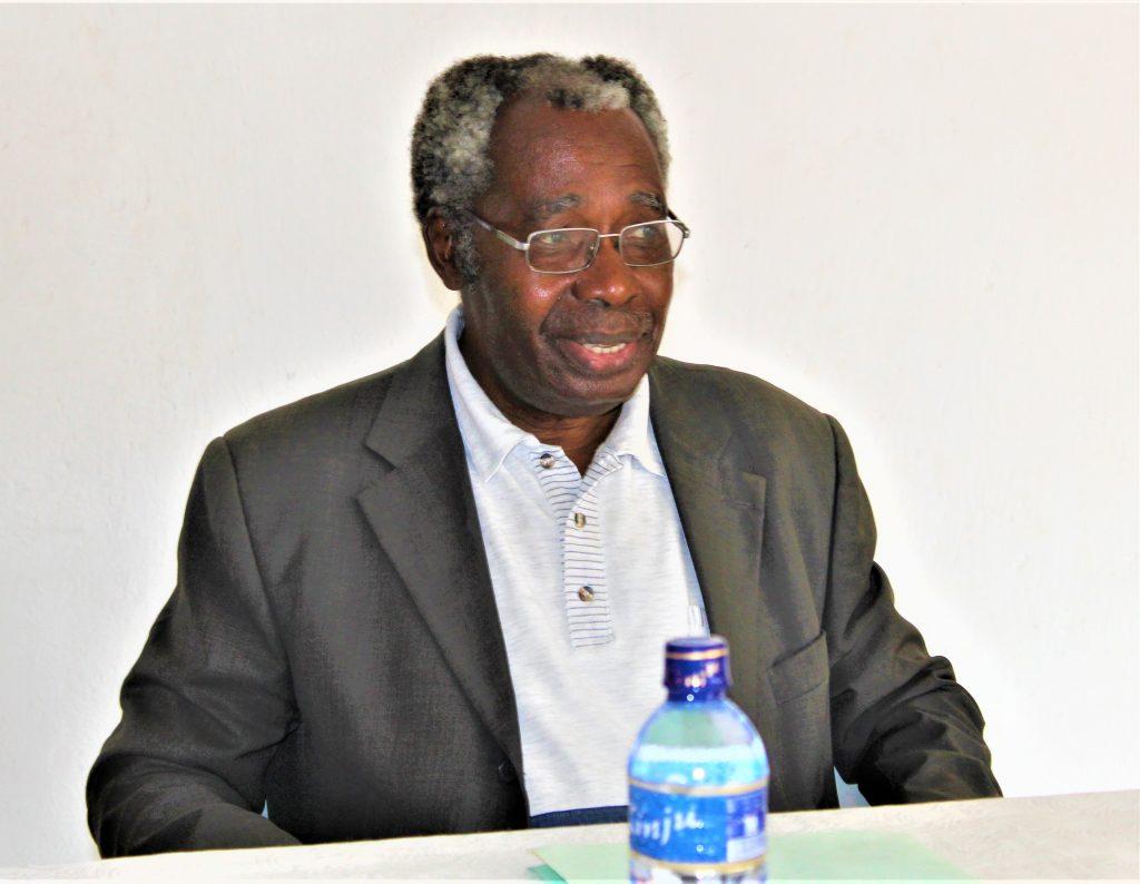 Amb. albert Mbonerane,représentant légal de l'ALUMA Burundi