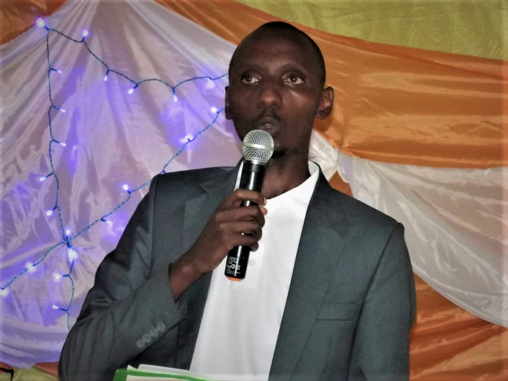 Cyriaque Nkengurutse, représentant légal de ARFH- Burundi