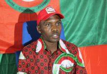 Thérence Manirambona,porte-parole du CNL