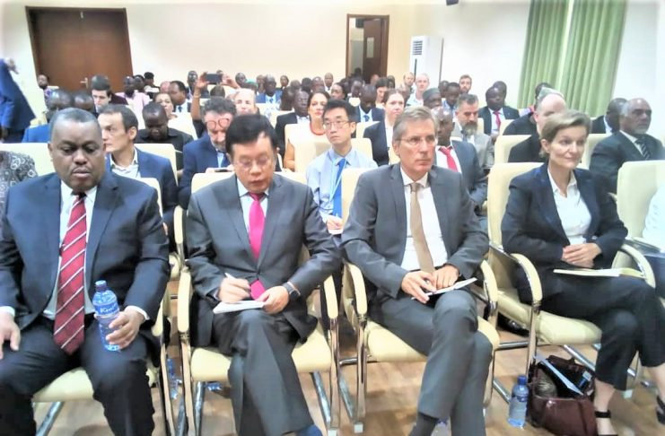 Les diplomates accrédités au Burundi