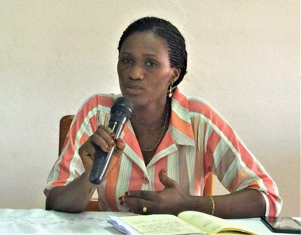 Diane Ndonse, Présindente de l'AFJO