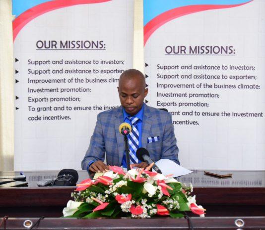 Désiré Musharitse,Directeur de l'API