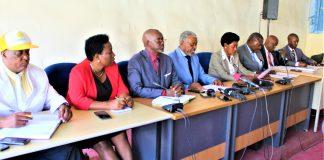 Les membres de la COPA2020
