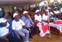 les membres de la coalition COPA2020 sont en meeting de la campagne électoral2020 en Mairie de Bujumbura