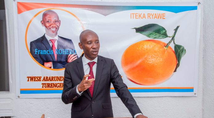 Francis Rohero, candidat indépendant aux présidentielles de 2020