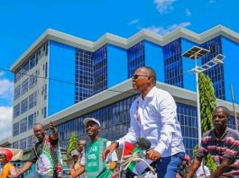 Freddy Mbonimpa , Maire de la capitale économique de Bujumbura