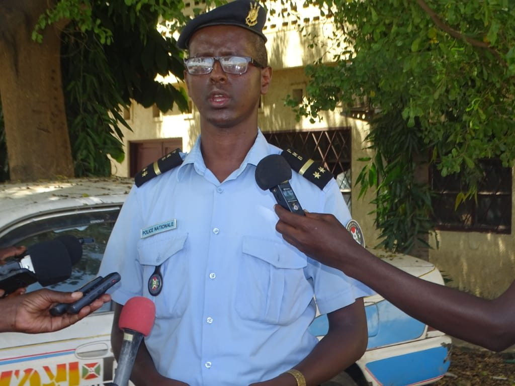Moise Nkurunziza,porte parole adjoint du ministère en charge de la sécurité publique au Burundi