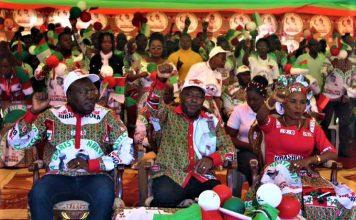 Gen. Maj Evariste Ndayishimiye candidat présidentiel du CNDD-FDD au milieu
