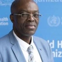 Dr Walter Kazadi Mulombo, représentant de l'OMS au Burundi