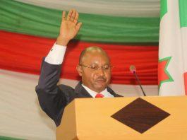 Le CPG Alain Guillaume Bunyoni,premier ministre burundais