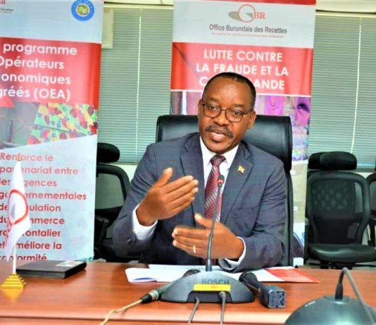 Audace Niyonzima, Commissaire général de l'OBR