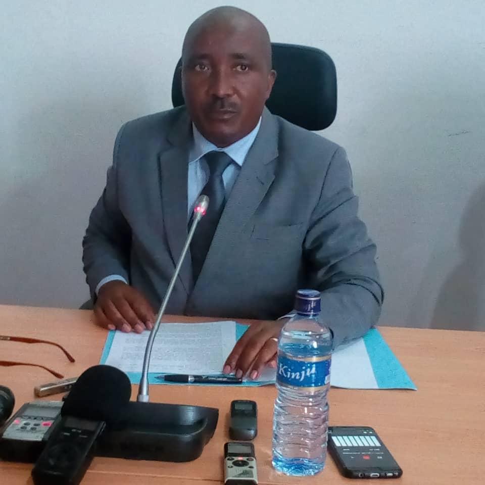 M. Nicolas Ndayishimiye, DG de l'ISTEEBU.