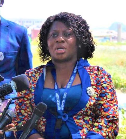 BOUANGA AYOUNE Lia Berthe  a représenté le Gabon