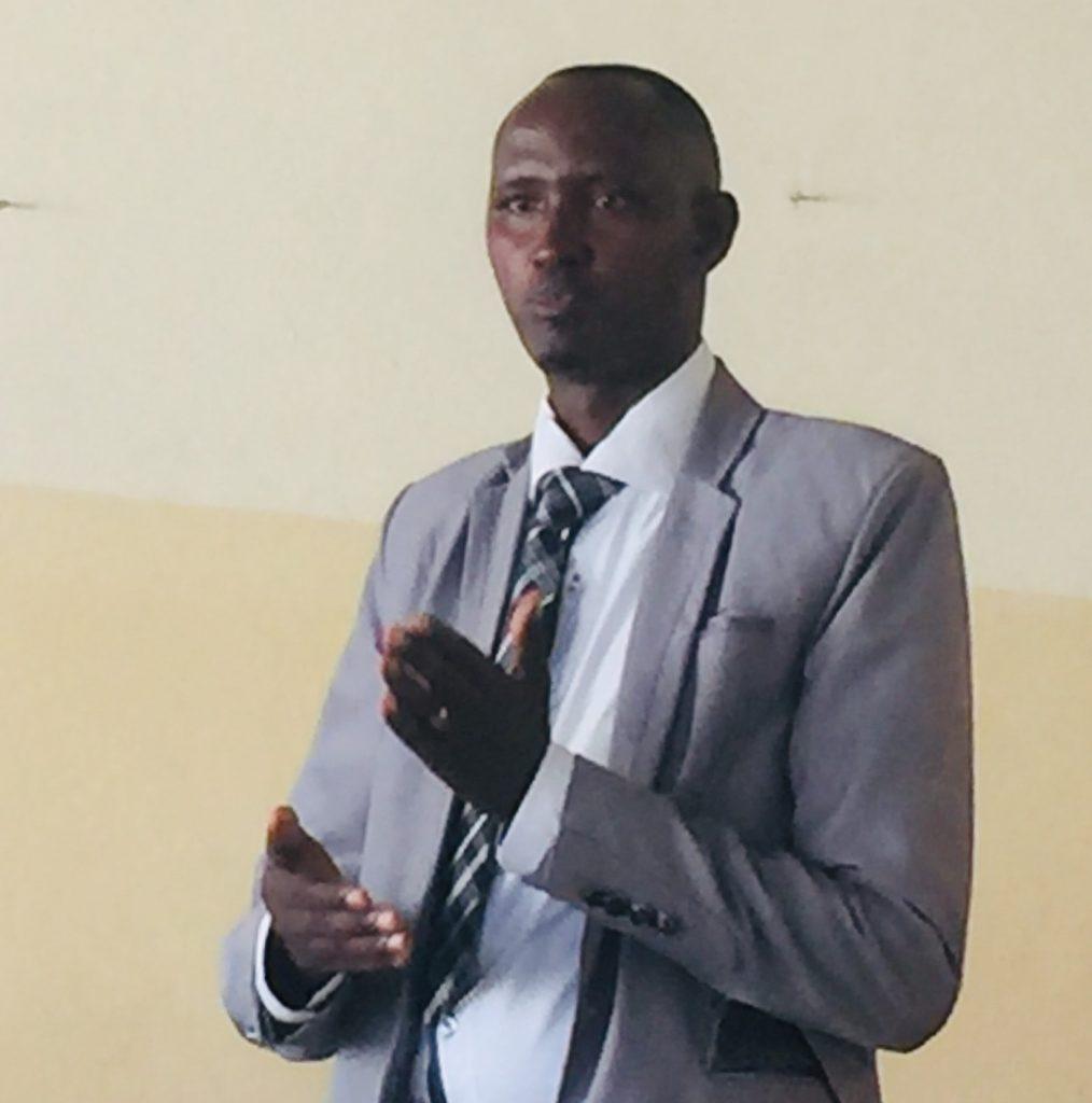 Ir Alexis Nyamawana, un des lauréants de la 1ère promotion