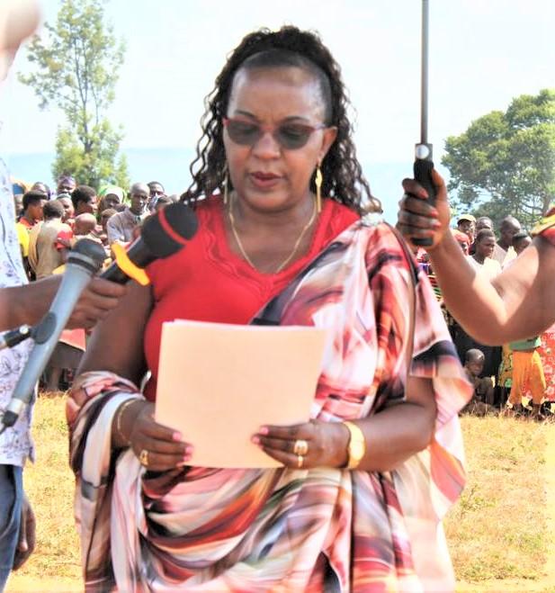 Hon Sabine Ntakarutimana, 1ère vice-président de l'AN:« Malheureusement, les victimes  n'étaient pas des politiciens »