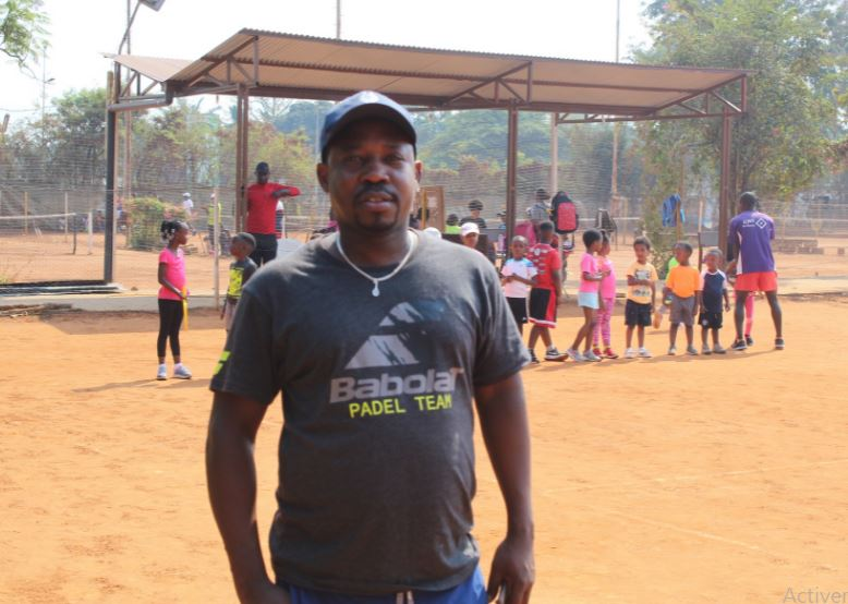 Jean Marie Julien Nsengiyumva, entraineur de padel et de tennis